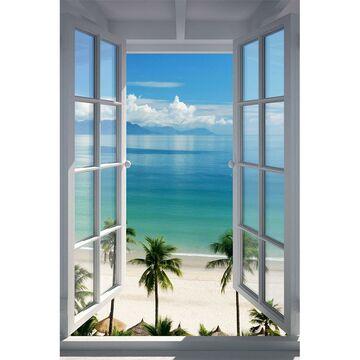 Plakat Beach Window 61 X 915 Cm