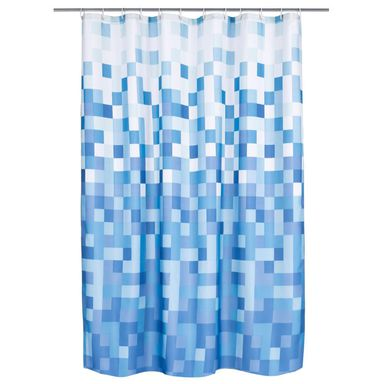 Zasłonka prysznicowa PIXLAR BLUE 180 x 200 cm DUSCHY
