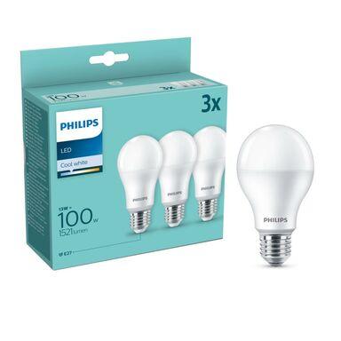 Żarówka LED E27 3 szt. 13 W = 100 W 1521 lm Neutralna PHILIPS