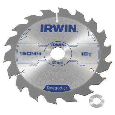 Tarcza do pilarki tarczowej 150MM/18T/20(16) IRWIN