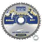 Tarcza do pilarki tarczowej 210MM/24T/30(20)  210 mm zęby: 24 szt. IRWIN WELDTEC