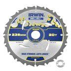 Tarcza do pilarki tarczowej 235MM/20T/30(20)  235 mm zęby: 20 szt. IRWIN WELDTEC