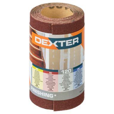 Papier ścierny ROLKA PAPIER P120 93 x 2.5 m DEXTER