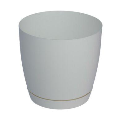 Doniczka plastikowa 13 cm biała TOSCANA FORM-PLASTIC