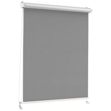 Roleta zaciemniająca Silver Click 108.5 x 150 cm grafitowa termoizolacyjna