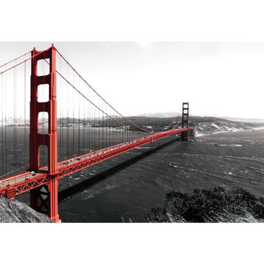 Fototapeta GOLDEN GATE BRIDGE 104 x 152 cm