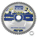 Tarcza do pilarki tarczowej 235MM/60T/30(20)  235 mm zęby: 60 szt. IRWIN WELDTEC