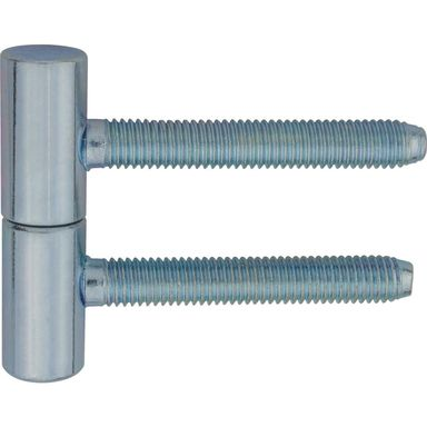 Zawias do drzwi wkręcany 13.5 x 60 mm Biały 2 szt.