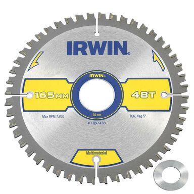 Tarcza do pilarki tarczowej 165MM/48T/30(20) śr. 165 mm  48 z IRWIN MULTIMATERIAL