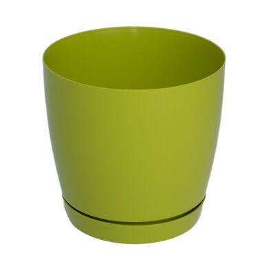 Doniczka plastikowa 25 cm zielona TOSCANA FORM-PLASTIC