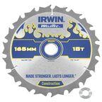 Tarcza do pilarki tarczowej 165MM/18T C/20(16)  165 mm zęby: 18 szt. IRWIN WELDTEC