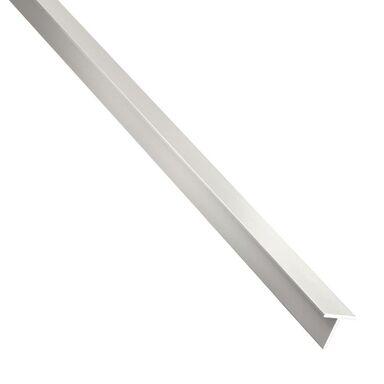 Teownik aluminiowy 1 m x 16 x 16 mm surowy srebrny