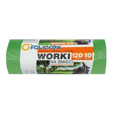 Worki na śmieci 120 l 10 szt. do odpadów biodegradowalnych