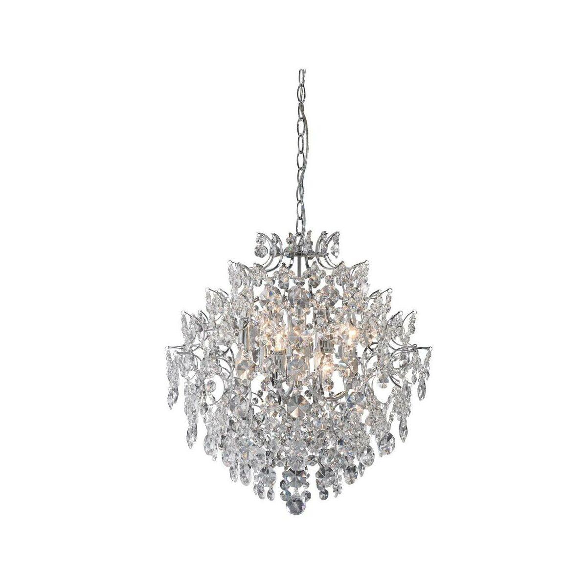 Zyrandol Rosendal Chrom E14 Markslojd Zyrandole Lampy Wiszace I Sufitowe W Atrakcyjnej Cenie W Sklepach Leroy Merlin