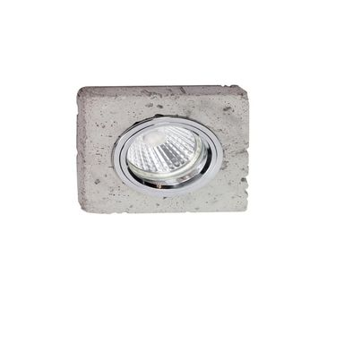 Oprawa stropowa LEDSDREAM betonowa kwadratowa GU10 SPOT-LIGHT