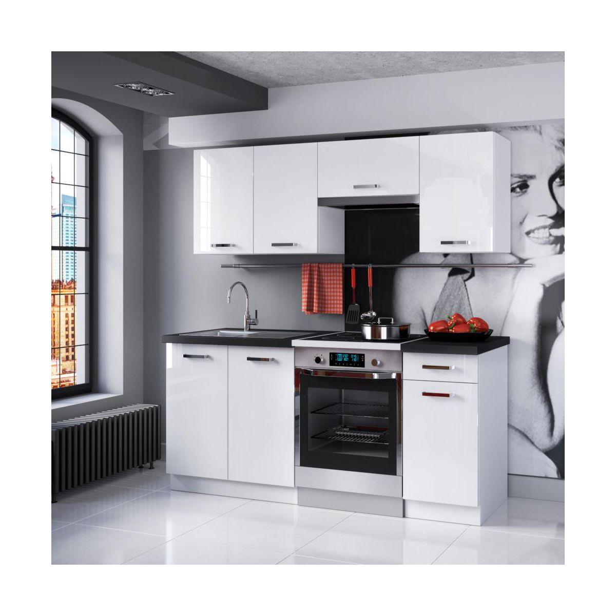 Zestaw mebli kuchennych TERNI 2 PROMO CLASSEN