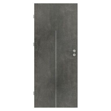 Skrzydło drzwiowe LINE Beton ciemny 90 Lewe PORTA
