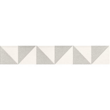 Listwa ceramiczna INDIGO GEO BIAŁY 6 X 36 ARTE