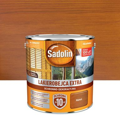 Lakierobejca do drewna Extra 2.5 l Mahoń Sadolin