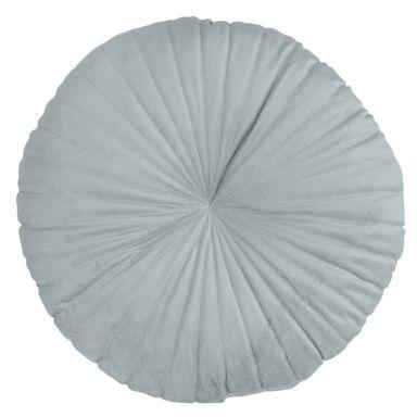 Poduszka okrągła Coquille szara 43 x 43 cm