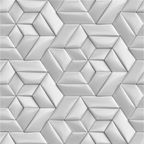 Dekor Rombus Perla 60 X 60 Alfa-Cer