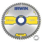 Tarcza do pilarki tarczowej 210MM/60T/30(20)  210 mm zęby: 60 szt. IRWIN MULTIMATERIAL