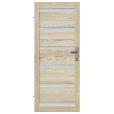 Skrzydło drzwiowe pokojowe drewniane GENEWA 90 Lewe RADEX