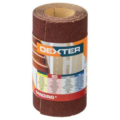 Papier ścierny ROLKA PAPIER P80 115 x 2.5 m DEXTER