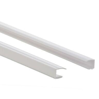 Prowadnica PCV do rolet 220 cm biała