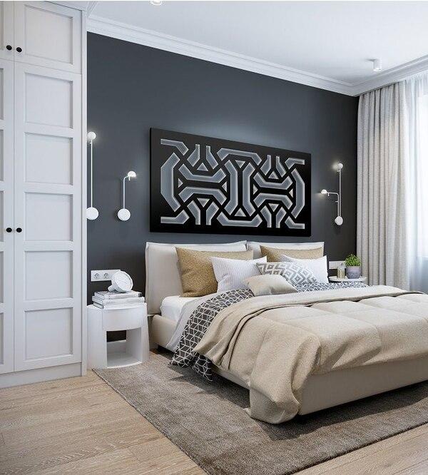 Panele ażurowe w sypialni