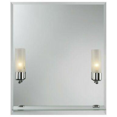 Lustro łazienkowe z oświetleniem kinkietowym CENTO II 55 x 65 DUBIEL VITRUM