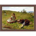 Obraz WIOSNA DZIECI 78.4 x 58.4 cm NIELSEN