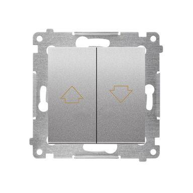 Włącznik centralny rolet DZP1.01/43 Srebrny SIMON54