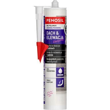 Uszczelniacz dekarski polimerowy DACH & PODŁOGA Bezbarwny 290 ml PENOSIL