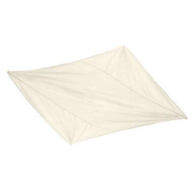 Żagiel ogrodowy przeciwsłoneczny 360 x 360 cm kwadratowy biały