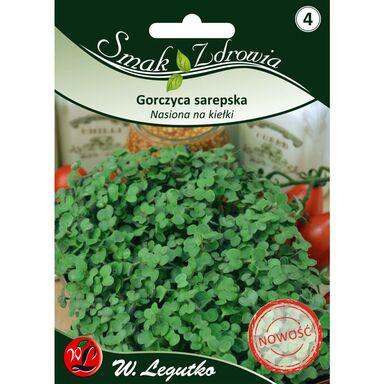 Gorczyca sarepska nasiona na kiełki W. LEGUTKO
