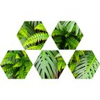 Dekor Hex Green Wall 20 X 23 Alfa-Cer