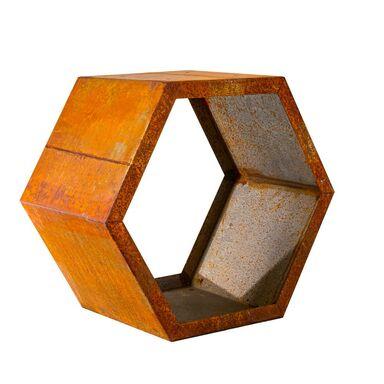 Stojak na drewno CORTEN 60 x 40 x 60 cm FOREST STYLE