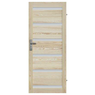 Skrzydło drzwiowe drewniane pokojowe Genewa 90 Prawe Radex