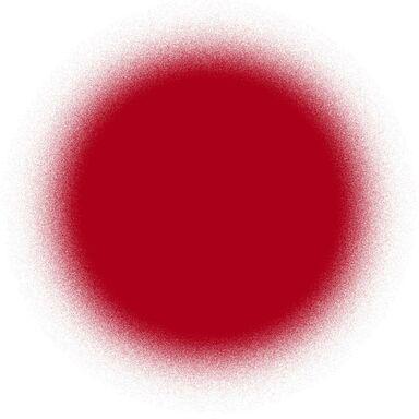 Spray KOLOR Czerwony0,4 l  LUXENS