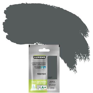 Tester farby KUCHNIA I ŁAZIENKA 25 ml Stylowy grafit LUXENS