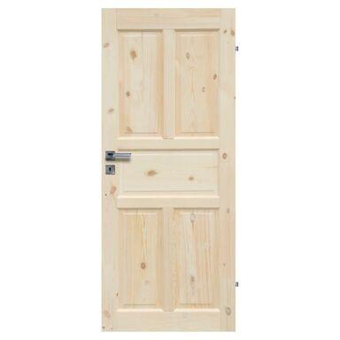 Skrzydło drzwiowe pełne drewniane LONDYN LUX 70 Prawe RADEX