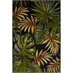 Dywan Mirage zielony w liście 160 x 230 cm