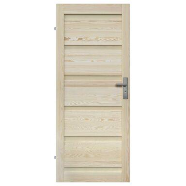 Skrzydło drzwiowe drewniane pełne Genewa 90 Lewe Radex