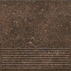 Stopnica Granitos Brown 30 x 30 Ceramika Paradyż