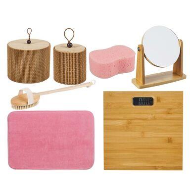 Zestaw akcesoriów łazienkowych Bambus Evg Trade