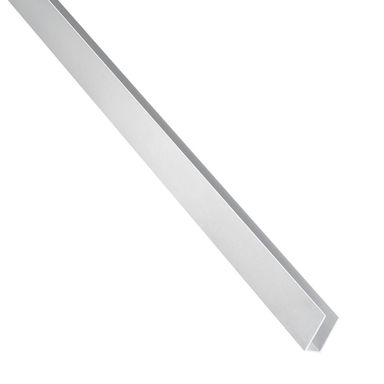 Ceownik aluminiowy 1 m x 10 x 10 mm anodowany srebrny