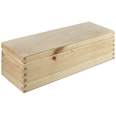 Skrzynka drewniana na wino 36 x 11.5 x 10.7 cm Floorpol