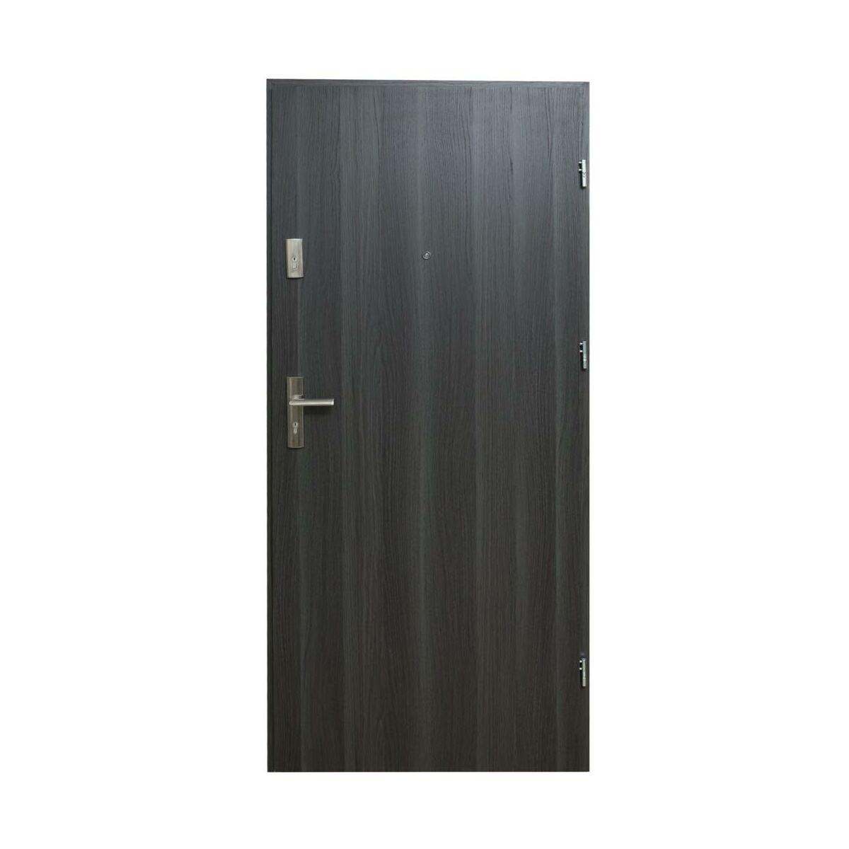 Drzwi Wejsciowe Hektor 32 Dab Grafit 80 Prawe Domidor Drzwi Zewnetrzne Do Domu Mieszkania W Atrakcyjnej Cenie W Sklepach Leroy Merlin