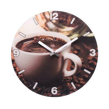 Zegar ścienny KAWA 30.5 x 2 cm